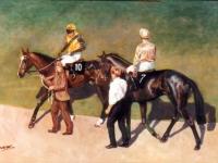 Cheltenham Racehorses painting.jpg