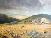 Dartmoor Hunt painting.jpg