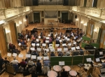 The Brno Philharmonic Orchestra at Besedni Dum, conducted by Mikel Toms