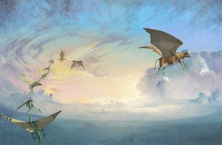 Metamorphosis - oil painting by Matt Ottley