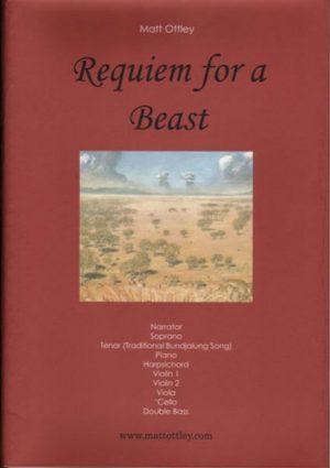 Requiem for a Beast musicl score