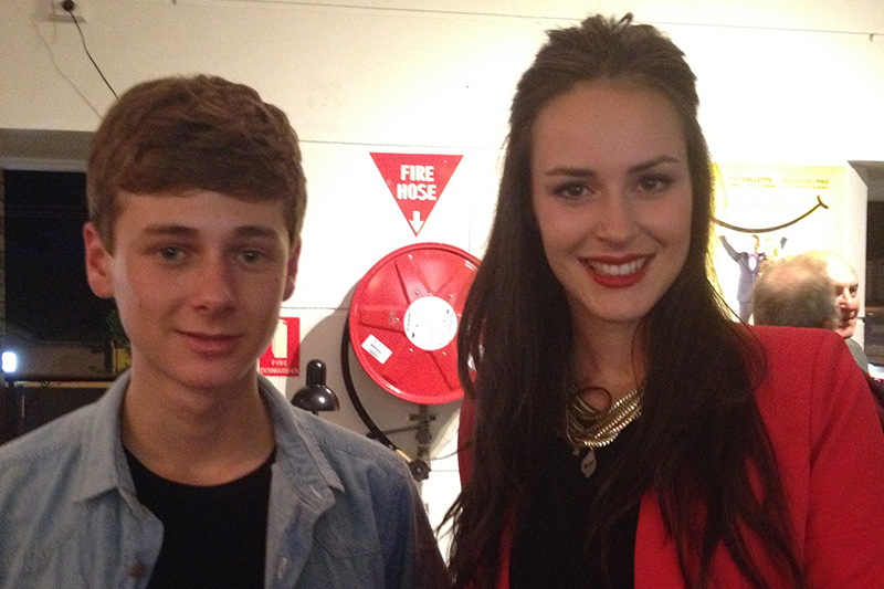 Home and Away DVD launch with Matt Ottley, Nina Baumer and Kyle Green