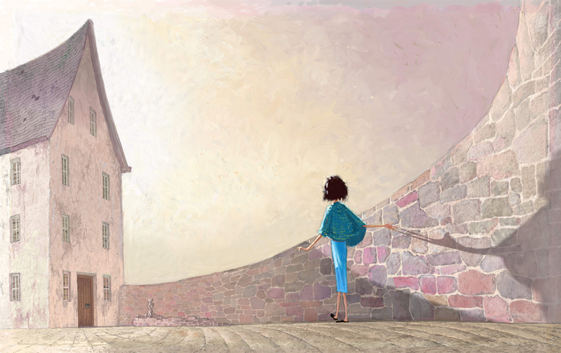 Illustration from Suri's Wall by Lucy Estela and Matt Ottley