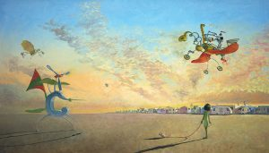 """Limited Edition Art Print by Matt Ottley from """"The Incredible Freedom Machines"""""""