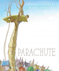 Children's book cover for Parachute by Matt Ottley and Danny Parker