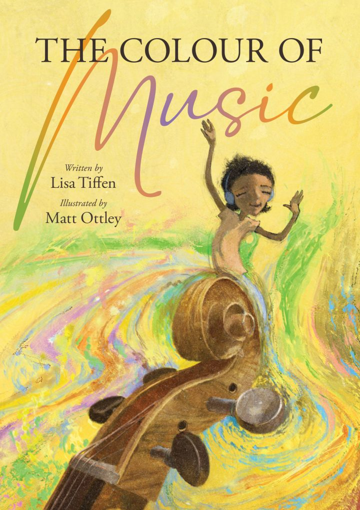 The Colour of Music book cover by Matt Ottley