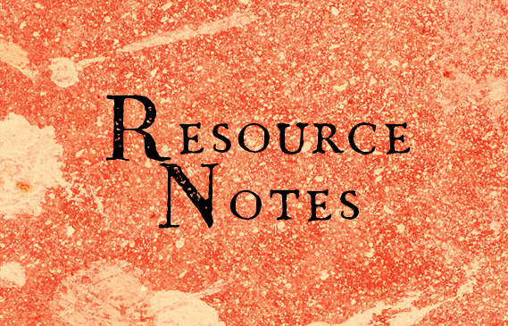 Resource Notes